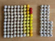 124 Golfbälle, Golfball,