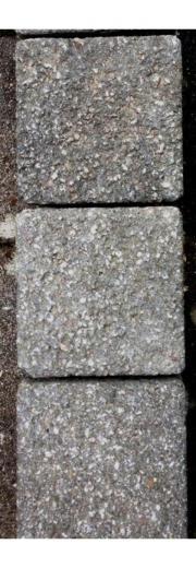 175 Stück Pflastersteine