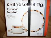 18 tlg. Kaffeeset Savannah 18 teiliges Kaffeeservice aus Porzellan. Spülmaschinenfest und Mikrowellen geeignet. Bestehend aus: 6 Tassen, 6 Untertassen, 6 Dessertteller. ... 15,- D-67657Kaiserslautern Engelshof Heute, 21:45 Uhr, Kaiserslautern Engelshof - 18 tlg. Kaffeeset Savannah 18 teiliges Kaffeeservice aus Porzellan. Spülmaschinenfest und Mikrowellen geeignet. Bestehend aus: 6 Tassen, 6 Untertassen, 6 Dessertteller