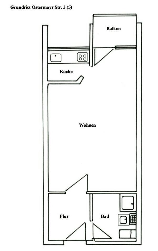 1zimmer wohnung m nchen vermietung 1 zimmer wohnungen. Black Bedroom Furniture Sets. Home Design Ideas
