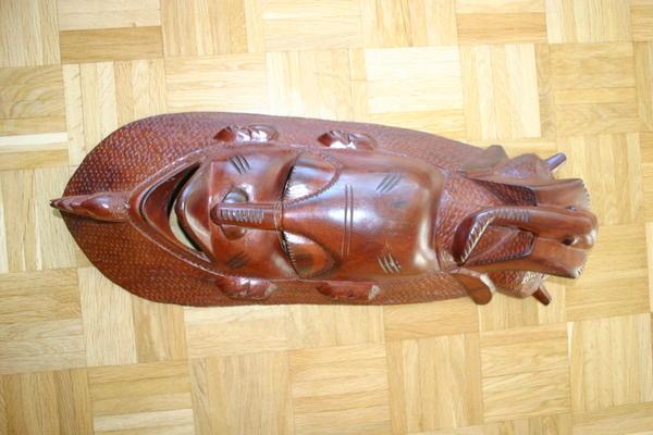 2 afrikanische masken in stuttgart dekoartikel kaufen for Dekoartikel stuttgart