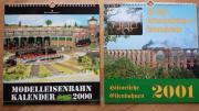 2 Eisenbahn-Jahreskalender,