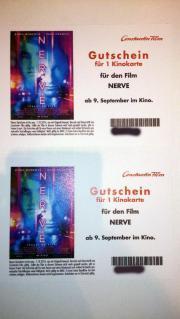 2 Kinokarten für