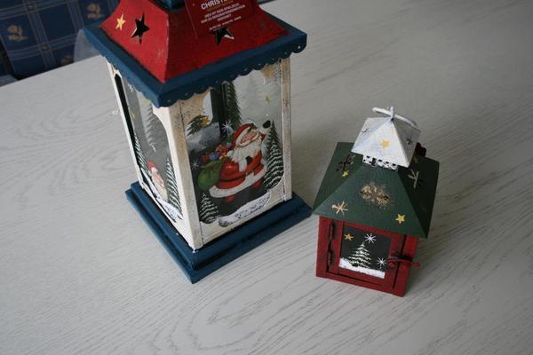 2 metall laternen weihnachten in mainz dekoartikel for Dekoartikel metall