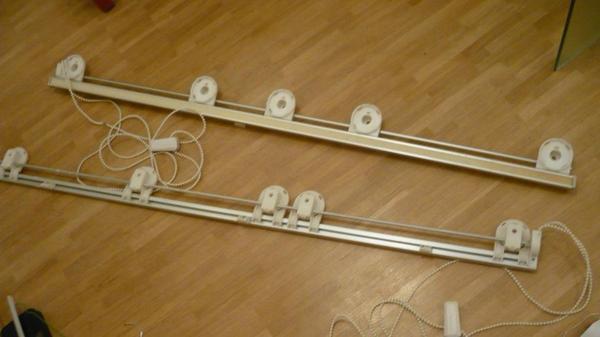 2 raffrollo gardinenstangen in m nchen gardinen. Black Bedroom Furniture Sets. Home Design Ideas