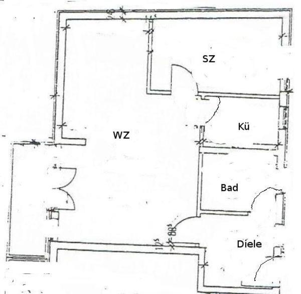 2 zimmer wohnung vermietung 2 zimmer wohnungen. Black Bedroom Furniture Sets. Home Design Ideas