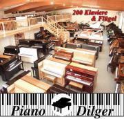 200 Klaviere & Flügel,