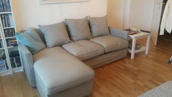 verkaufe ein top erhaltenes h rn sand sofa mit recamiere. Black Bedroom Furniture Sets. Home Design Ideas