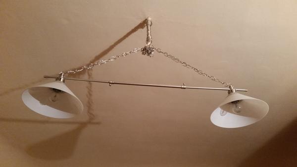 2er deckenlampe kroby vernickelt mundgeblasenes glas in heidelberg lampen kaufen und. Black Bedroom Furniture Sets. Home Design Ideas