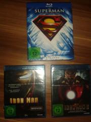 3 Blueray DvDs