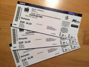 3 Eintrittskarten für