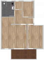 3 Zimmer Wohnung;