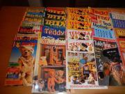 34 Hefte über Teddybären, teilweise mit Bastelanleitungen und Schnittmustern 34 Hefte über Teddybären aus den 90er Jahren: BärReport, Teddy & Co., Mini Teddys, Teddybär und seine Freunde, u.a. (siehe Fotos), teilweise mit ... 35,- D-47807Krefeld Fischeln  - 34 Hefte über Teddybären, teilweise mit Bastelanleitungen und Schnittmustern 34 Hefte über Teddybären aus den 90er Jahren: BärReport, Teddy & Co., Mini Teddys, Teddybär und seine Freunde, u.a. (siehe Fotos), teilweise mit
