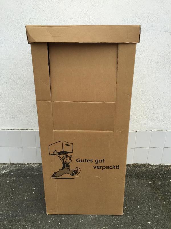 3x kleiderboxen umzug kartons zu verkaufen evtl lieferung m glich in zirndorf. Black Bedroom Furniture Sets. Home Design Ideas
