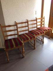4 Esszimmerstühle, Eiche