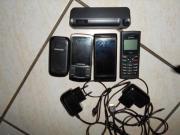 4 Handys mit