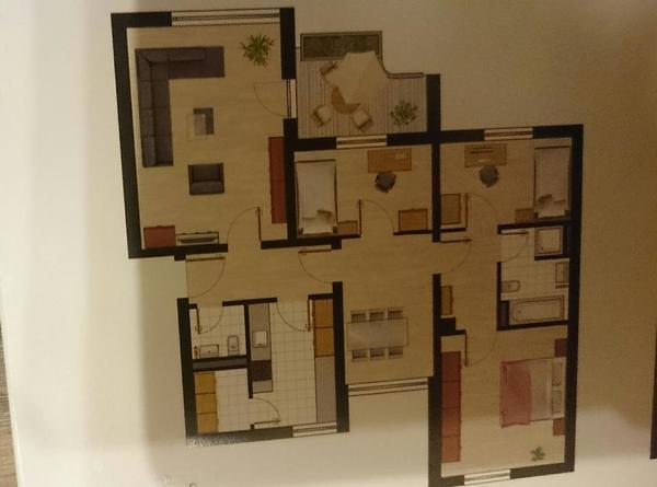 4 zi wohnung zu vermieten in m nchen vermietung 4 mehr zimmer wohnungen kaufen und verkaufen. Black Bedroom Furniture Sets. Home Design Ideas