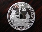 5 Dollar Farbmünze