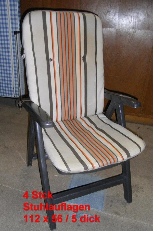 5 sitzauflagen f r balkonst hle kompl 5 eur in. Black Bedroom Furniture Sets. Home Design Ideas