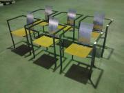 6 Designer Stühle /