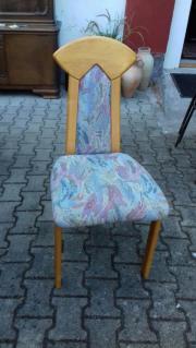 6 Stühle massiv