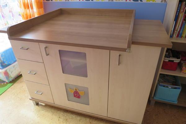 Paidi babyzimmer gitter kinderbett schrank wickelkommode aufsatz b cherregal wandregal - Schrank schutz baby ...