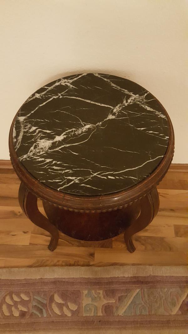 Alter beistelltisch gebraucht kaufen nur 2 st bis 70 for Marmorplatte gebraucht