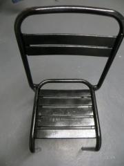 Alter Metallstuhl, Eisen,