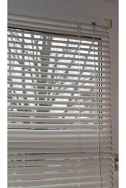 jalousie holzlamellen ikea lindmon 120x155 cm wei in m nchen gardinen jalousien kaufen und. Black Bedroom Furniture Sets. Home Design Ideas