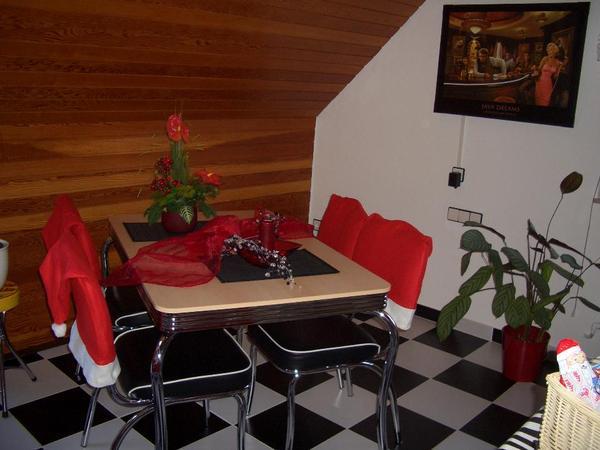 american diner usa k chentisch 50 s retro vintage. Black Bedroom Furniture Sets. Home Design Ideas