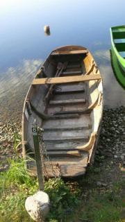 Angelboot Angelkahn Holzkahn