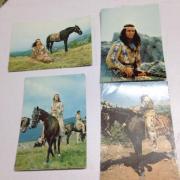 Ansichtskarten Winnetou Filme