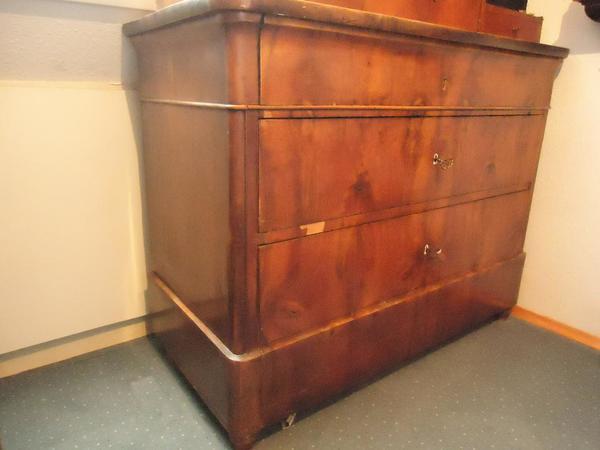 antike kommode biedermeier in balingen sonstige antiquit ten kaufen und verkaufen ber private. Black Bedroom Furniture Sets. Home Design Ideas