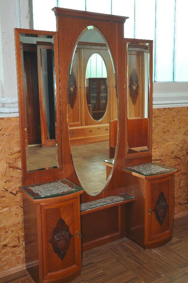 antike schlafzimmerm bel in h chst sonstige m bel antiquarisch kaufen und verkaufen ber. Black Bedroom Furniture Sets. Home Design Ideas