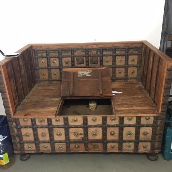 antike truhe gebraucht kaufen 2 st bis 65 g nstiger. Black Bedroom Furniture Sets. Home Design Ideas