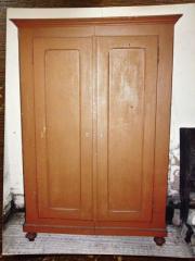 Antiker Bauernschrank Garderobenschrank