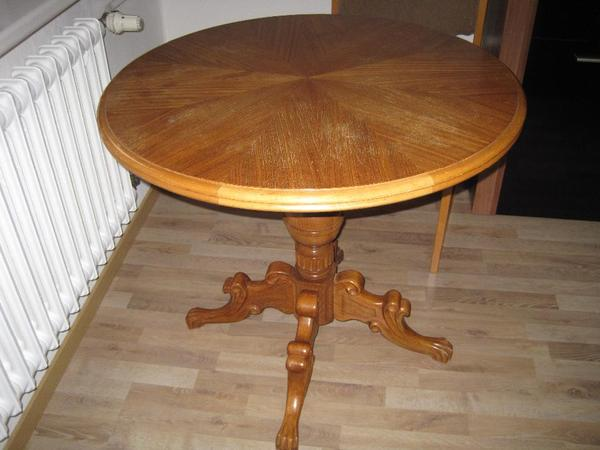 antiker runder tisch in berlin designerm bel klassiker kaufen und verkaufen ber private. Black Bedroom Furniture Sets. Home Design Ideas