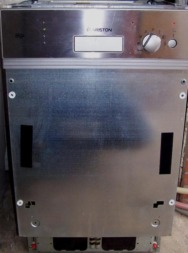 Ariston edelstahl einbau geschirrspulmaschine 45cm in neu for Geschirrspülmaschine 45cm