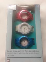 Armbanduhr mit Wechselbändern