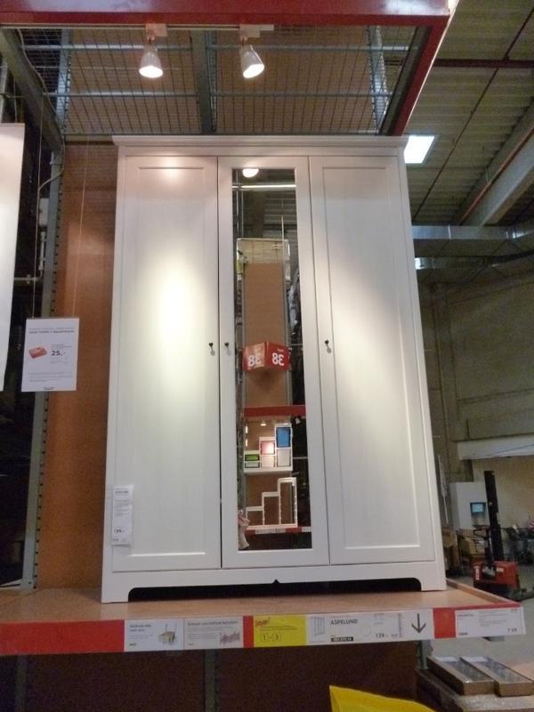 Kleiderschrank weiß mit spiegel ikea  Ikea Schrank Aspelund | gispatcher.com