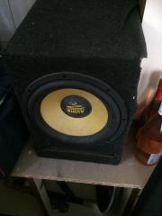 AudioSystem Bassbox mit