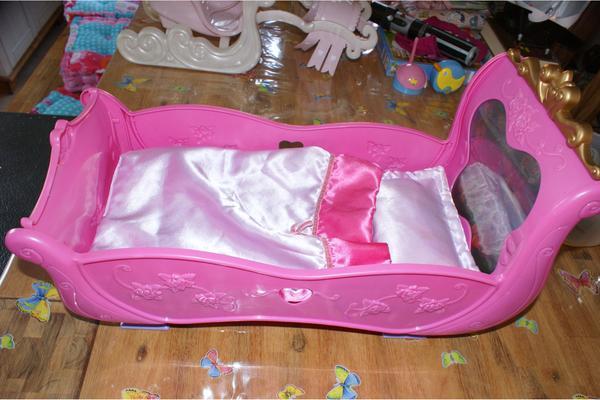 baby born bett in ramsen puppen kaufen und verkaufen. Black Bedroom Furniture Sets. Home Design Ideas