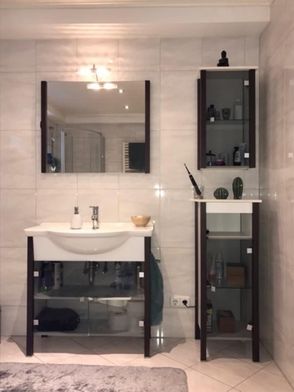 badezimmer m bel waschbecken unterschrank spiegel. Black Bedroom Furniture Sets. Home Design Ideas