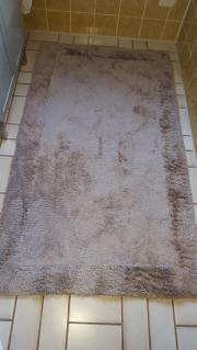 Badezimmer-Teppich Beige/