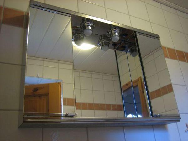 Badezimmer neu und gebraucht kaufen bei for Spiegelschrank 1m breit