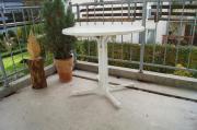 Balkontisch Gartentisch rund