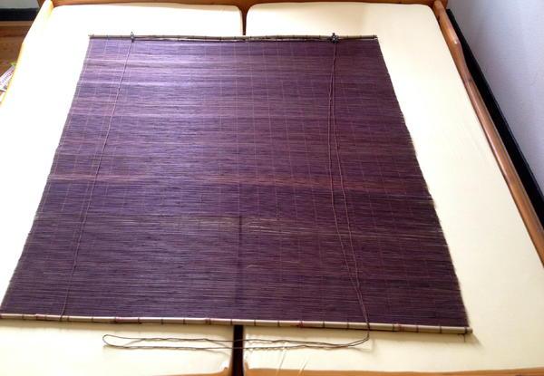 bambus rollo fenstervorhang holz jalousie versand in frankfurt gardinen jalousien kaufen. Black Bedroom Furniture Sets. Home Design Ideas