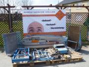 Bauaufzug, Dachdeckeraufzug - Steinweg