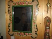 Bauernmalerei : Spiegel, Eierbecher ,