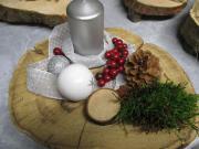 Baumscheiben ,Echtholz dekoriert
